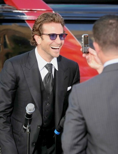 """""""The A-Team"""" star on the red carpet in Hollywood."""