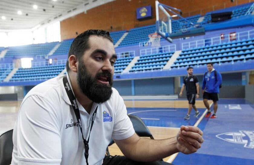 El español Ramón Díaz, entrenador de los Capitanes CDMX, habla durante una entrevista con Efe ayer, martes 6 de noviembre de 2018, en Ciudad de México (México). EFE