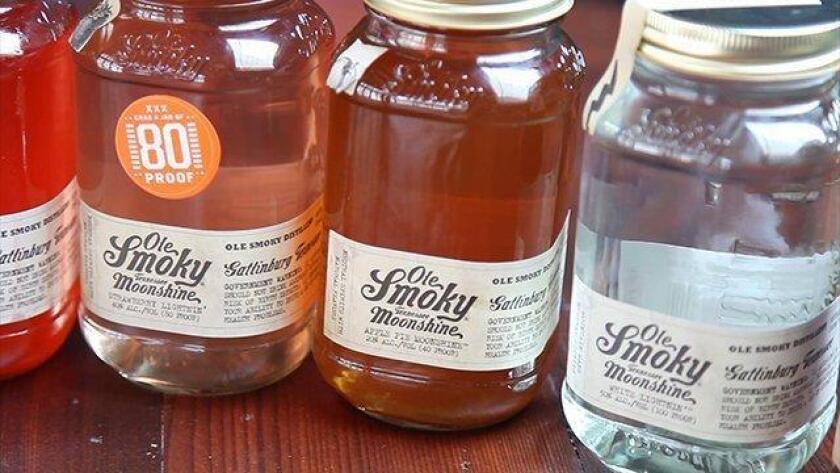 Ole Smoky Moonshine. Tennessee's FIRST legal moonshine distillery. (Jarnard Sutton)