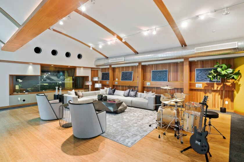 The permitted recording studio has been used by such musicians as Black Sabbath, Ozzy Osbourne and Whitesnake.