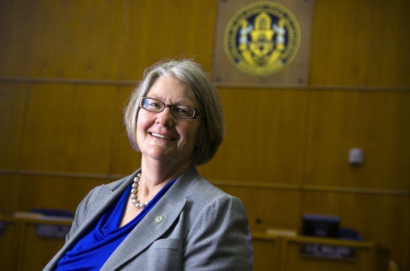 Sherri Lightner, newly elected San Diego City Council President.