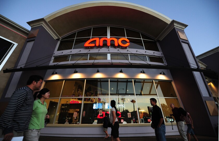An AMC Entertainment theater in Monterey Park, east of downtown Los Angeles.