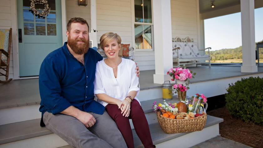 Mississippi renovators Ben and Erin Napier