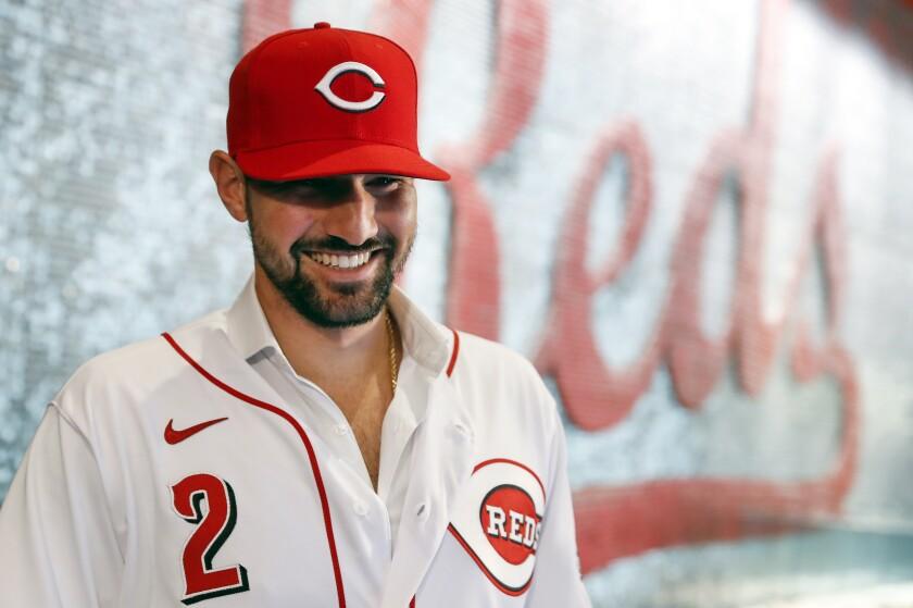 Reds Castellanos Baseball