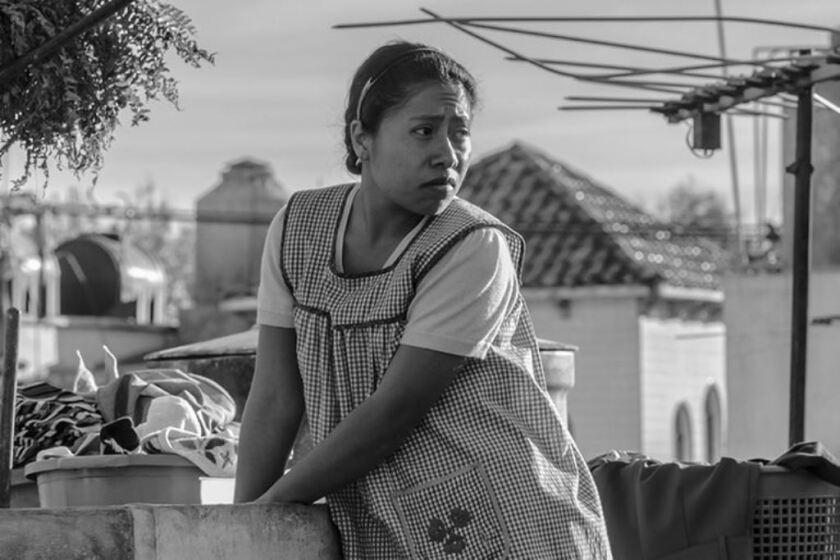 """Yalitza Aparicio interpreta a una empleada del hogar en la celebrada cinta """"Roma""""."""