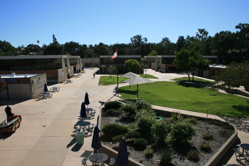 The Diegueño Middle School campus.