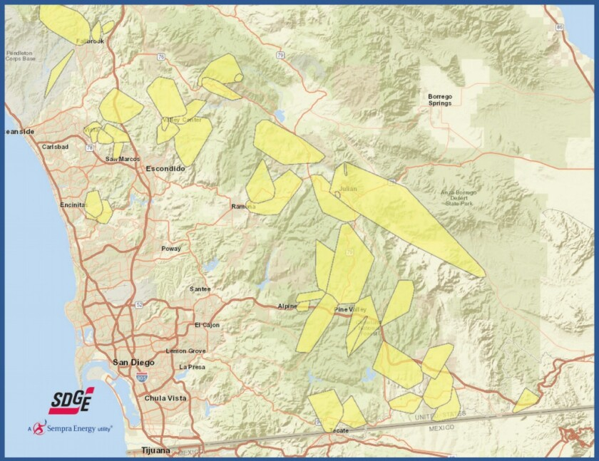 SDGE possible outage map.jpg