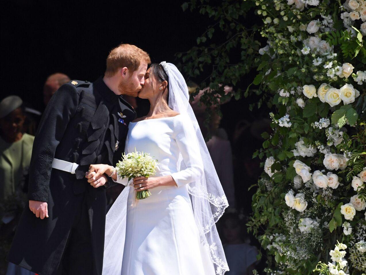 Prince Harry & Meghan Markle get married