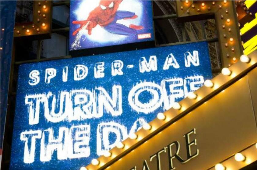 Julie Taymor reaches settlement over 'Spider-Man' musical