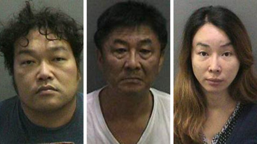 Suspects in pimping case