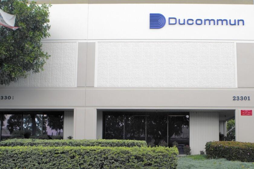 Ducommun headquarters in Carson