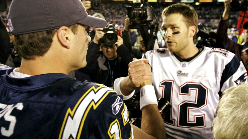 Philip Rivers, Tom Brady