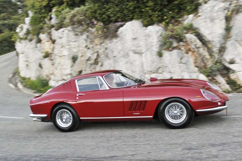 Steve McQueen's 1967 Ferrari 275 GTB/4 will be auctioned by RM Auctions at its annual Monterey sale in August. It could fetch at least $9 million.