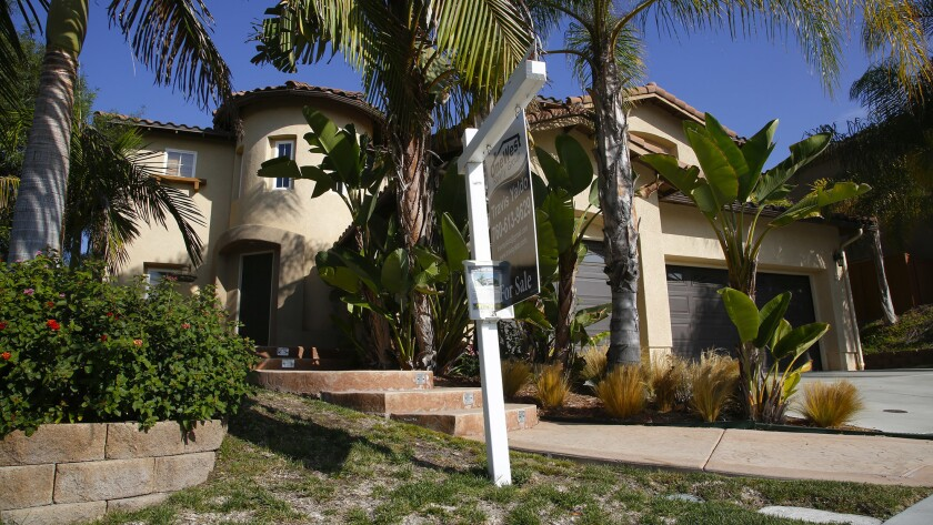Home for sale in east Chula Vista. Calif.