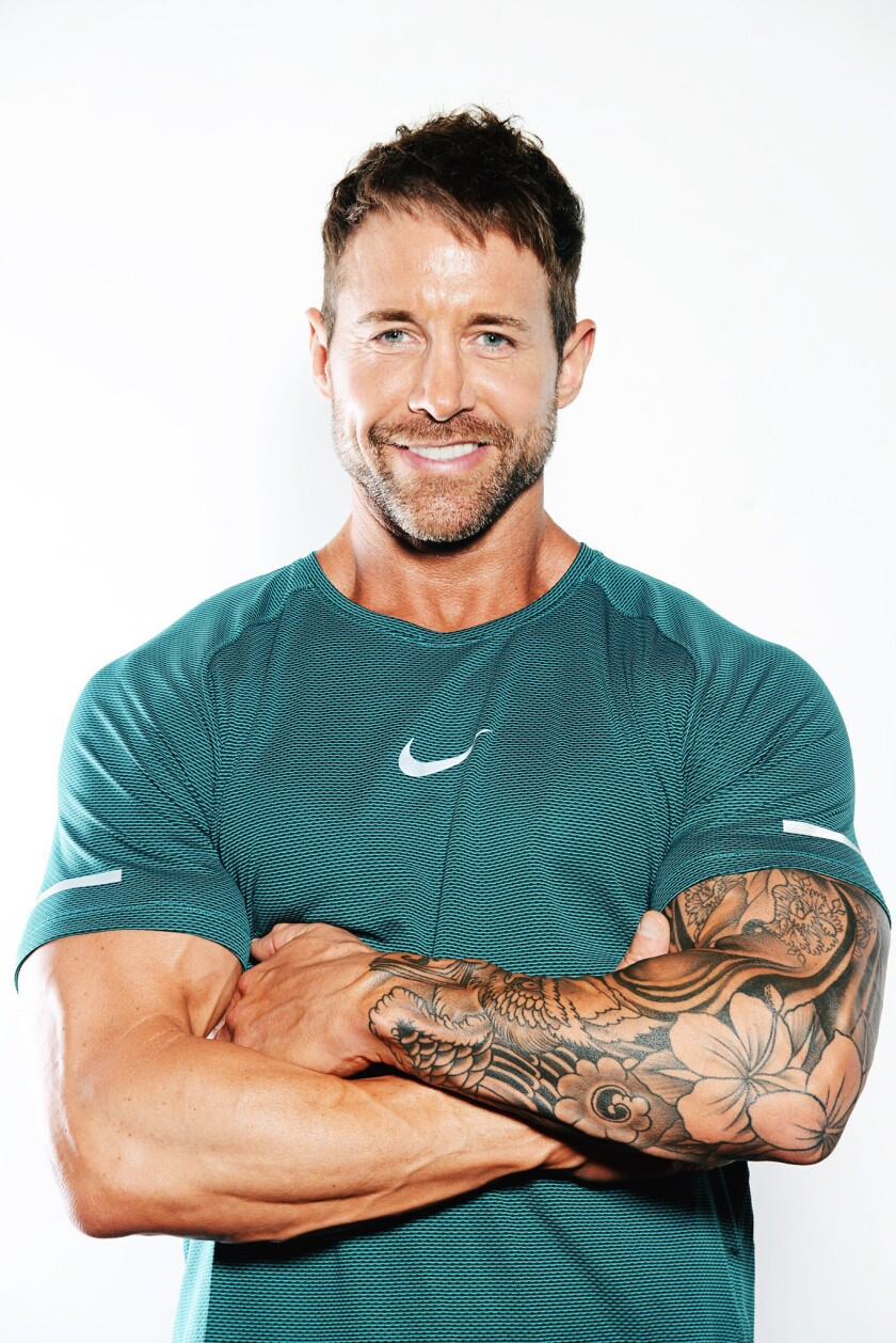 Los Angeles fitness trainer Chris DiVecchio launches his new E7 emergency weight loss program at an