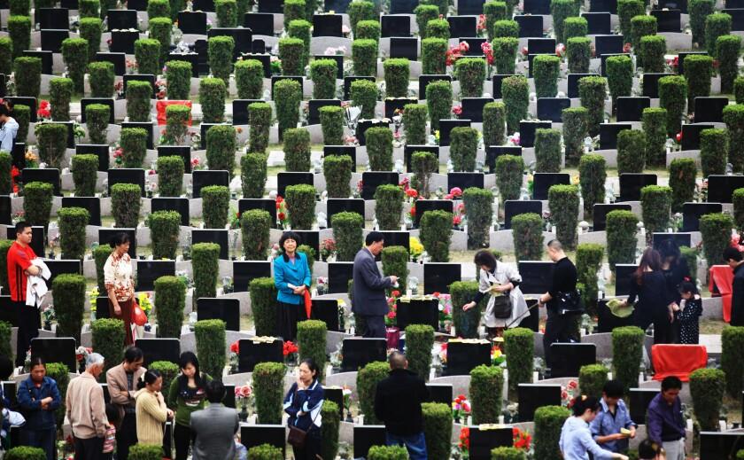 China headstones