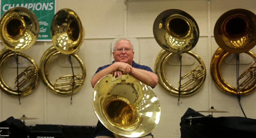 Mark Lowery just retired as band director at El Camino High School in Oceanside after 22 years in the district and 37 years overall teaching music.