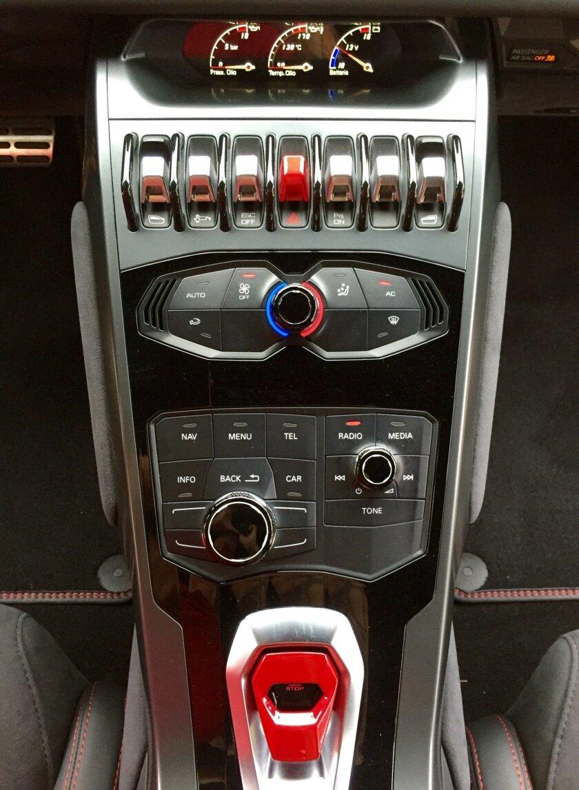 Some familiar Audi controls in the center stack.