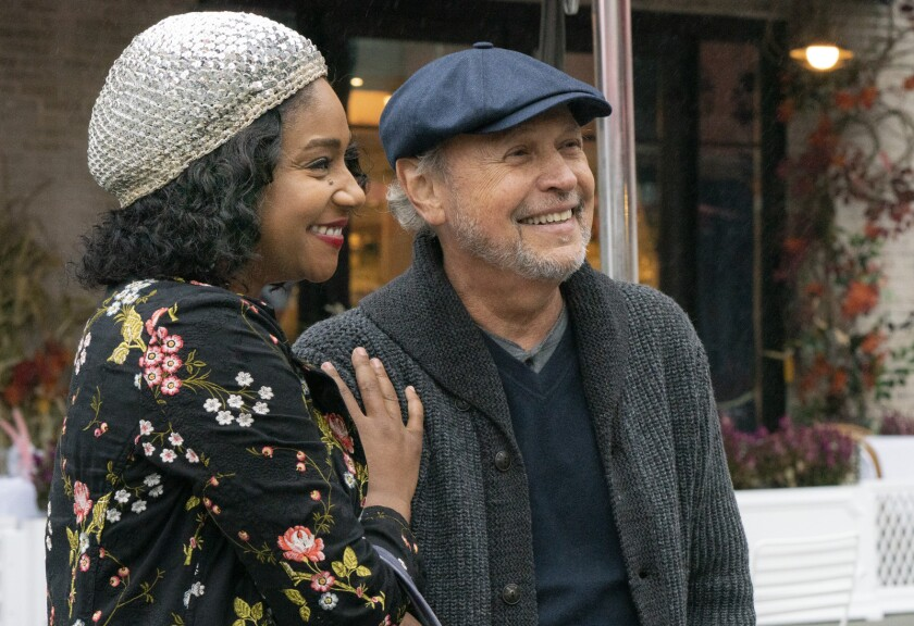 """Tiffany Haddish and Billy Crystal in the movie """"Here Today."""""""