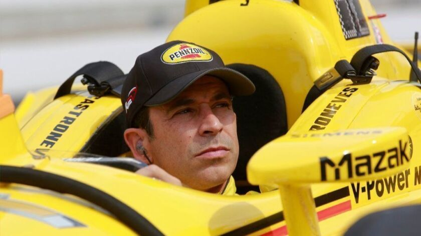 Three-time Indy 500 winner Hélio Castroneves.