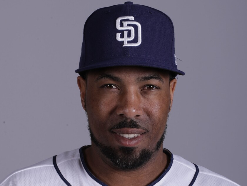 San Diego Padres hitting coach Johnny Washington was interviewed for the Angels managerial position.