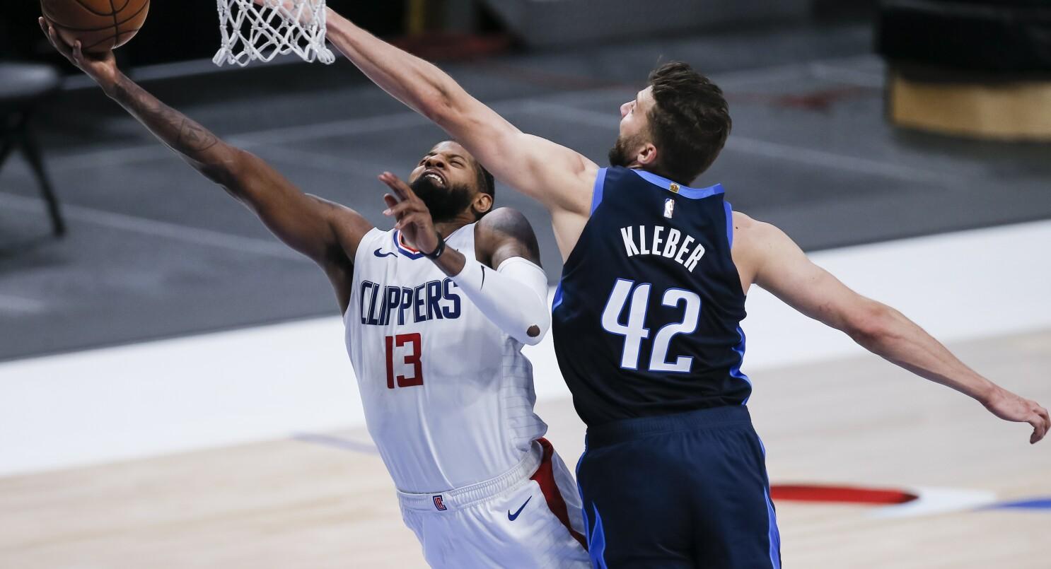 Leonard, Clippers bounce back with 109-99 win over Mavericks - The San  Diego Union-Tribune