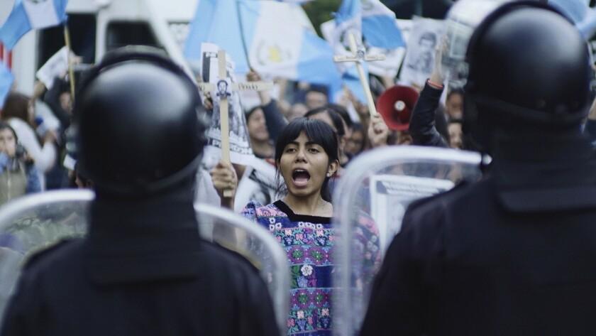 """Una escena de la cinta guatemalteca de terror """"La Llorona""""."""
