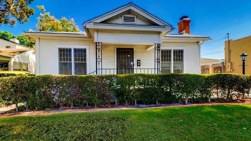 SAN DIEGO: Two structures fill out this Normal Heights estate: a three-bedroom home built in 1935 an