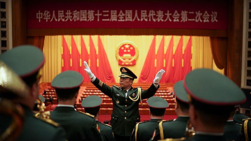 China's National People's Congress (NPC) Opens In Beijing