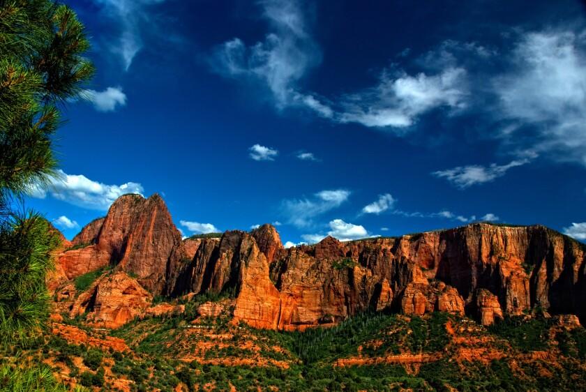 Kolob Canyon Afternoon