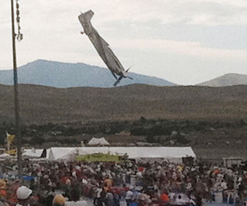 NTSB: Plane's tail structure probably caused Reno air show disaster