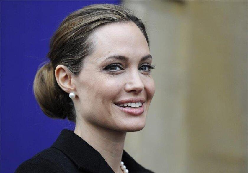 La actriz y activista estadounidense Angelina Jolie. EFE/Archivo