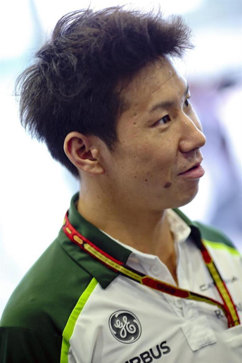 El piloto japonés Kamui Kobayashi. EFE/Archiov