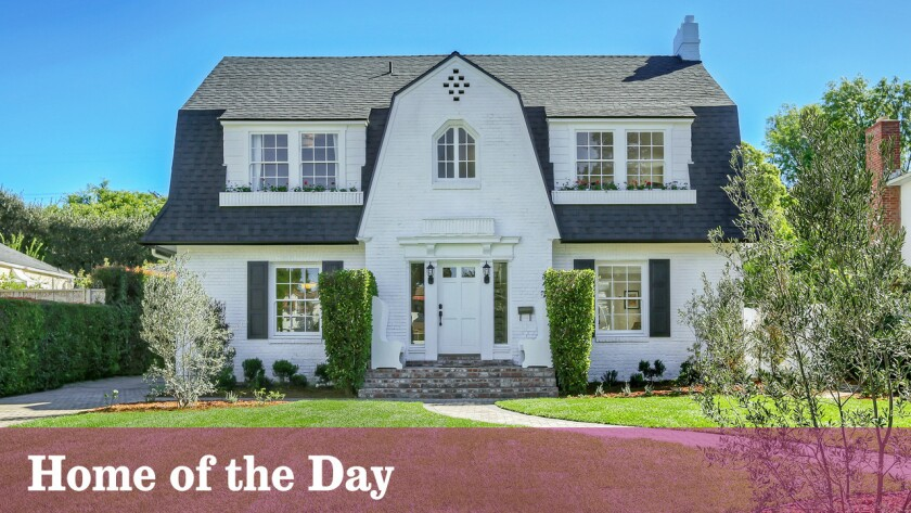 Home Of The Day 1920s Dutch Colonial Revival In Lafayette Square