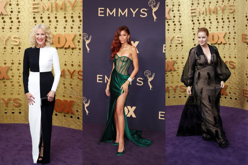 Emmys: Fashion hits and misses on the purple carpet