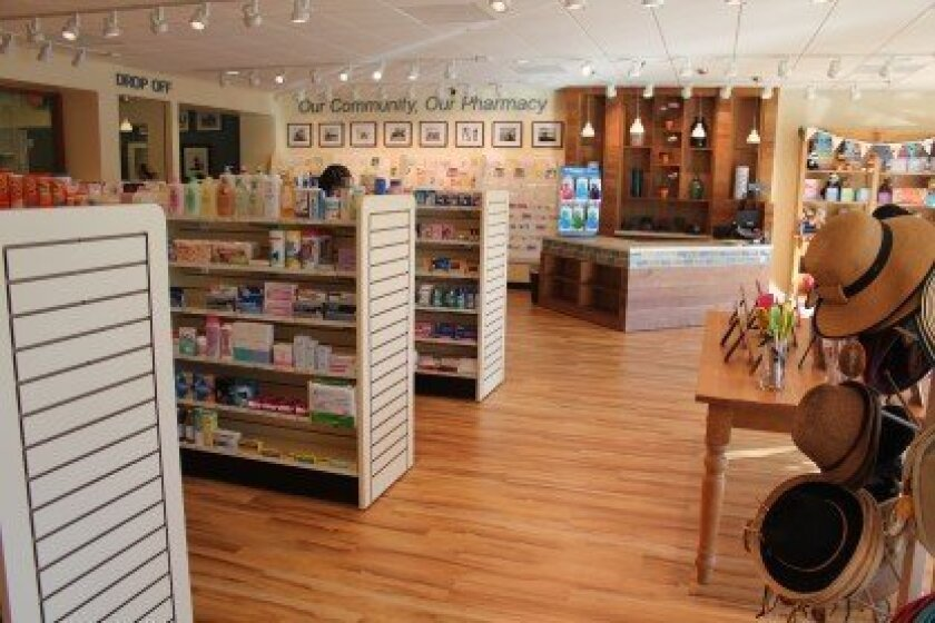 The new Carmel Valley Pharmacy in Carmel Country Plaza. Photo/Karen Billing
