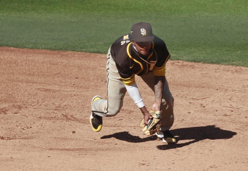 The Padres' CJ Abrams