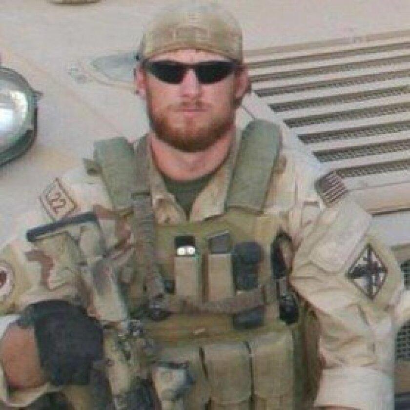Late U.S. Navy SEAL Aaron Vaughn. Courtesy photos
