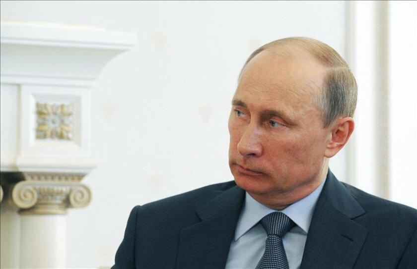 El presidente de Rusia, Vladímir Putin. EFE/Archivo