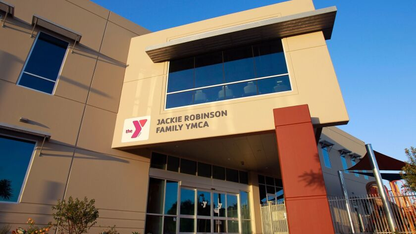SAN DIEGO, OCTOBER 10, 2017 | The Jackie Robinson Family YMCA in San Diego on Tuesday. | Photo by Ha