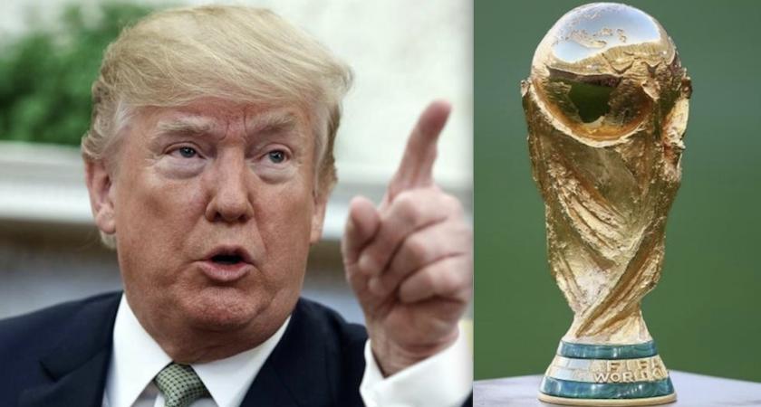 El presidente estadounidense Donald Trump va por el Mundial 2026.