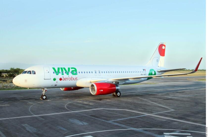 Avión de Viva Aerobus