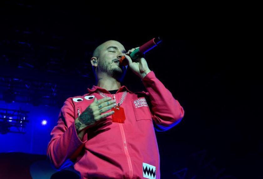 En la imagen, el cantante colombiano J Balvin. EFE/Archivo