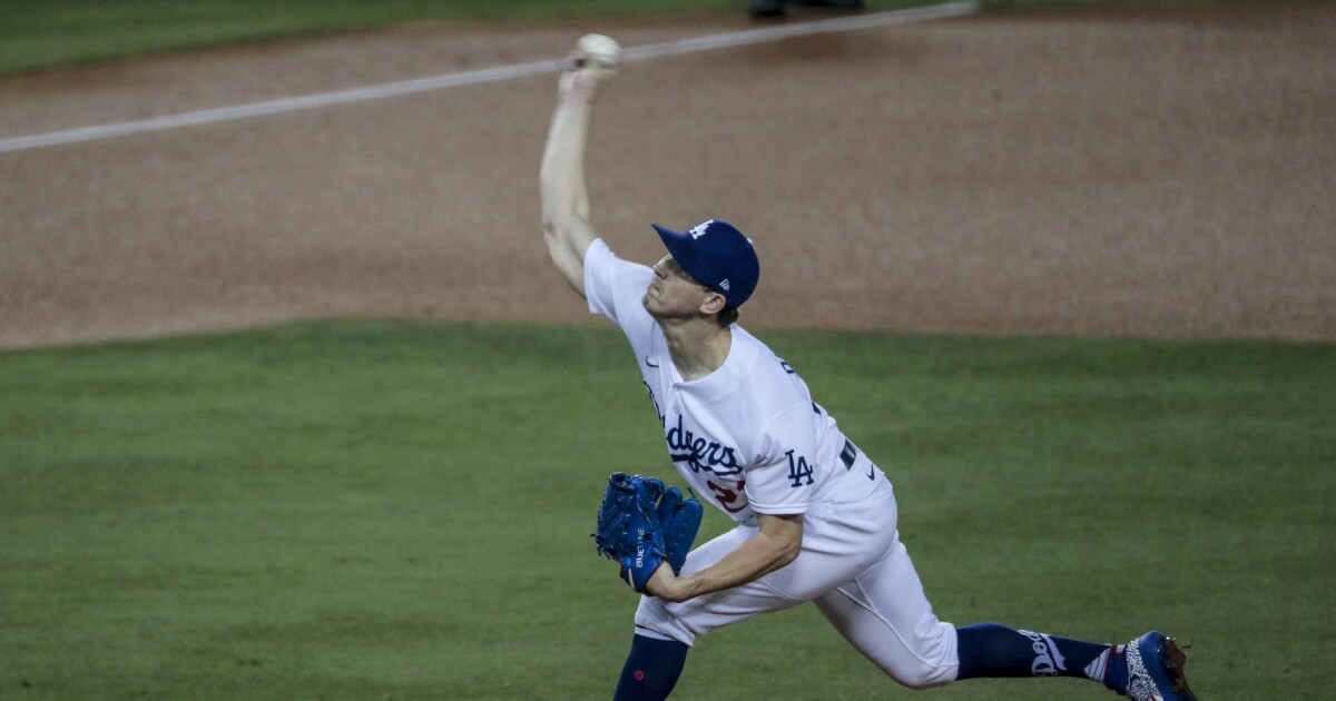Dodgers fire on a cylinders in 8-0 win over Giants