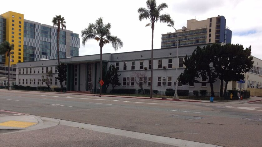 The Navy Facilities Engineering Command offices at 1220 Pacific Highway date back to the 1940s.