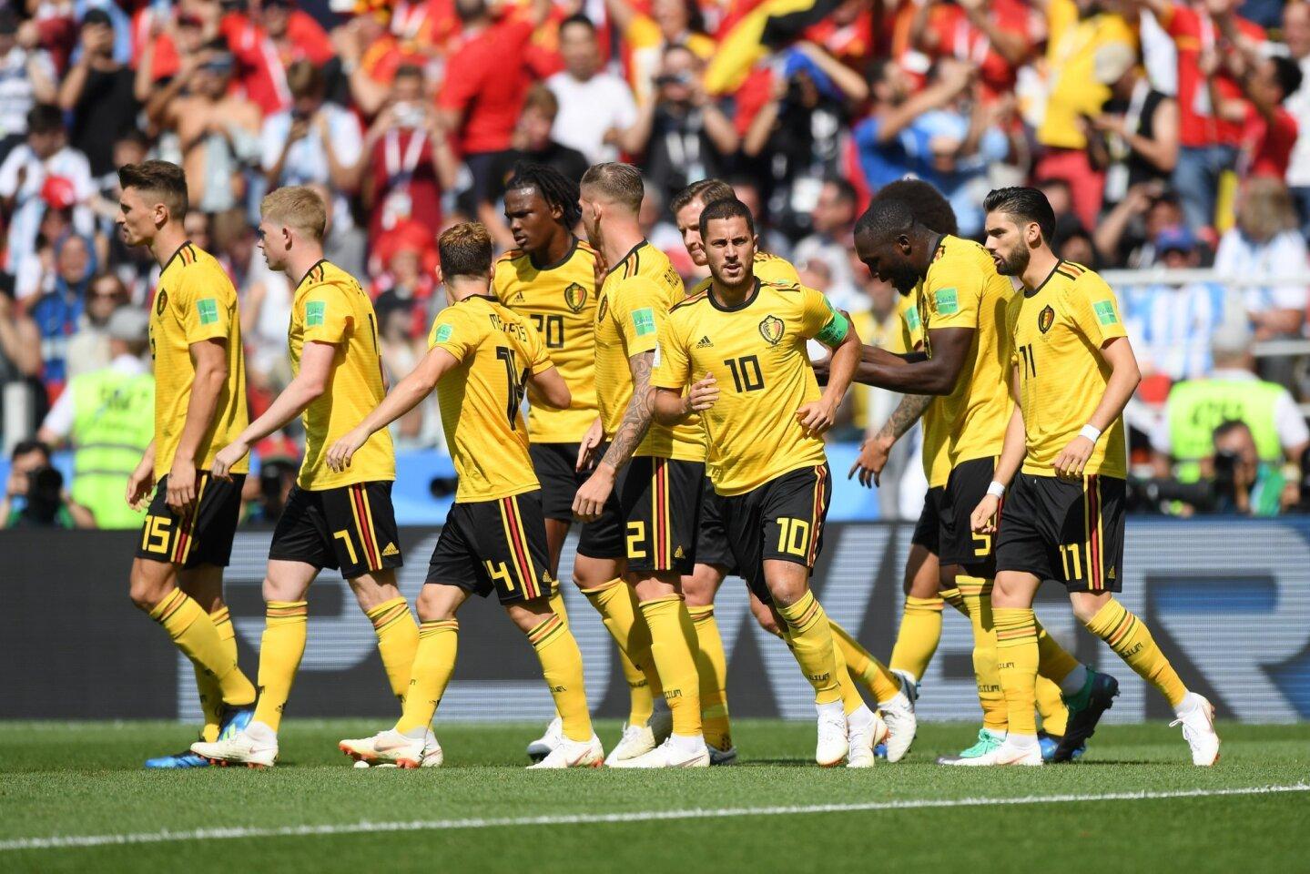 Bélgica 5-2 Túnez