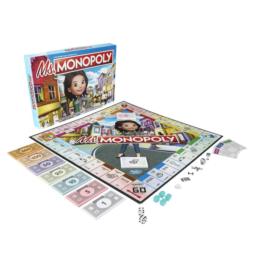 Hasbro will launch Ms. Monopoly this month. It's a new take on the classic Monopoly game that celebrates female trailblazers.