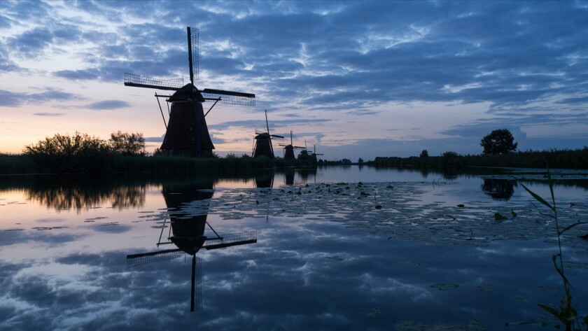 """Windmills in the Netherlands from the documentary """"Sex, Drugs & Bicycles."""""""