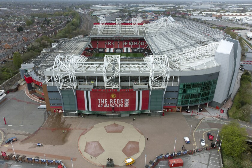 Protesters gain access to Man United training ground - The ...