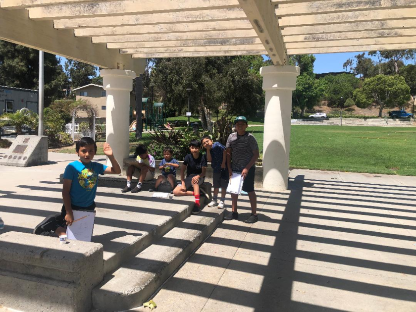 The new summer enrichment program takes place at La Colonia Park in Solana Beach.